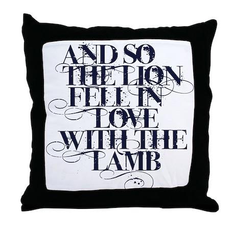 Twilight Quote Throw Pillow