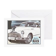 """1946 Buick Ad"" Greeting Card"