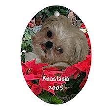 Anastasia Oval Ornament