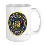 Wisconsin Masons Large Mug