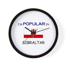 I'm Popular In GIBRALTAR Wall Clock