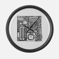 COMPUTER BOARD Large Wall Clock