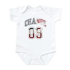 Obama Change 09 Infant Bodysuit