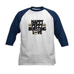 HAPPY AND PEPPY - Kids Baseball Jersey