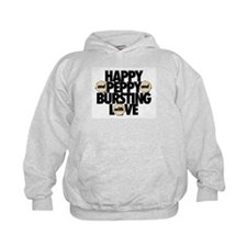 HAPPY AND PEPPY AND BURSTING WITH LOVE Hoodie