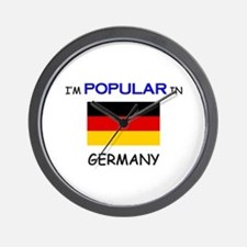 I'm Popular In GERMANY Wall Clock