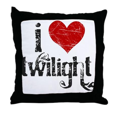 I Love Twilight Throw Pillow
