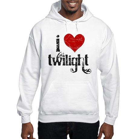 I Love Twilight Hooded Sweatshirt