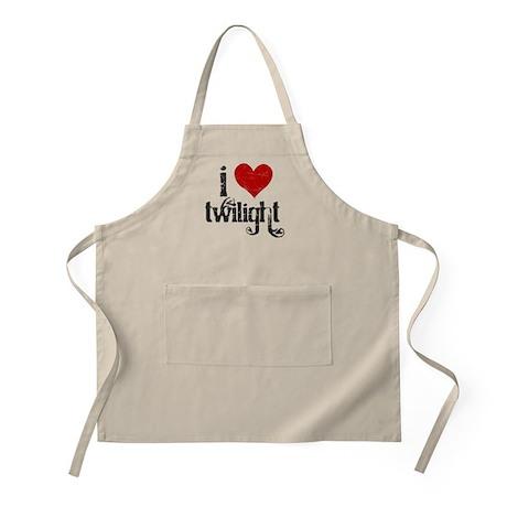 I Love Twilight BBQ Apron