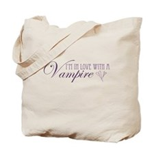 I'm in love with a Vampire Tote Bag