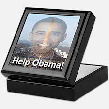 Help Obama Keepsake Box