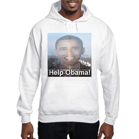 Help Obama Hooded Sweatshirt