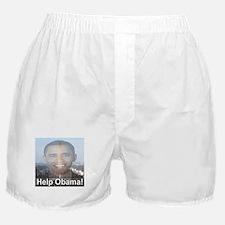 Help Obama Boxer Shorts