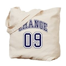 President Obama Change 09 Tote Bag