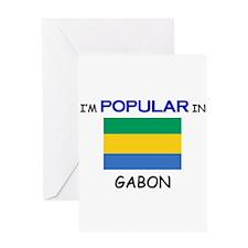 I'm Popular In GABON Greeting Card