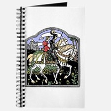 Knight and Maiden on Horseback Journal