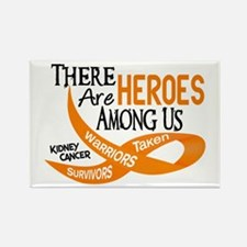 Heroes Among Us KIDNEY CANCER Rectangle Magnet