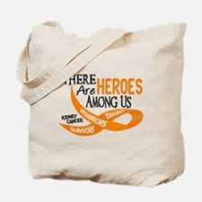 Heroes Among Us KIDNEY CANCER Tote Bag
