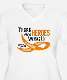 Heroes Among Us KIDNEY CANCER T-Shirt