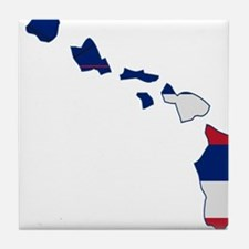 Hawaii Stripe Custom Design Tile Coaster