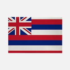 Beloved Hawaii Flag Modern St Rectangle Magnet (10