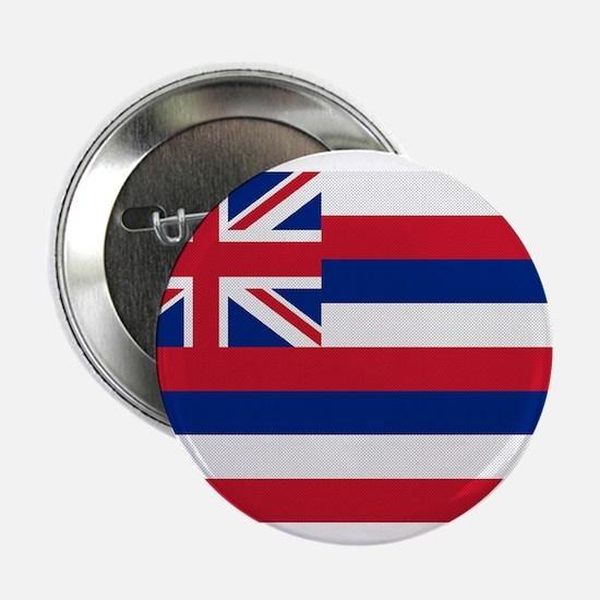 "Beloved Hawaii Flag Modern St 2.25"" Button"