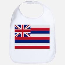 Beloved Hawaii Flag Modern St Bib