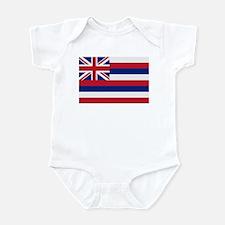 Beloved Hawaii Flag Modern St Infant Bodysuit