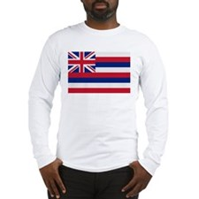 Beloved Hawaii Flag Modern St Long Sleeve T-Shirt