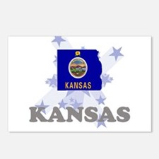 All Star Kansas Postcards (Package of 8)