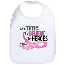 Time To Believe BREAST CANCER Bib