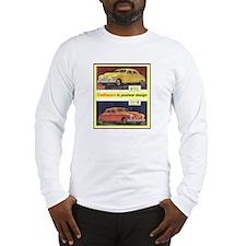 """1946 Kaiser-Frazer Ad"" Long Sleeve T-Shirt"