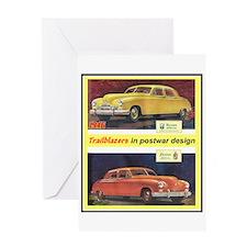 """""""1946 Kaiser-Frazer Ad"""" Greeting Card"""