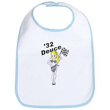 32 Deuce Blonde Bib
