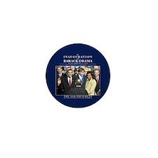 Obama Inauguration Photo Mini Button