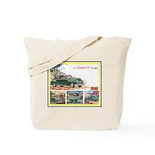 """1946 Plymouth Ad"" Tote Bag"