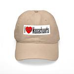 I Love Massachusetts Cap