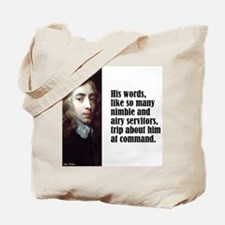 "Milton ""His Words"" Tote Bag"