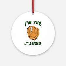 I'm the big brother baseball Ornament (Round)