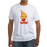 Stop Communist Parties! Fitted T-Shirt