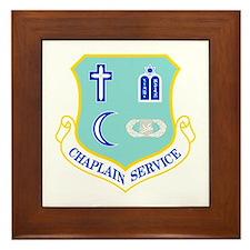 Chaplain Service Framed Tile