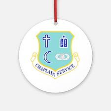 Chaplain Service Ornament (Round)