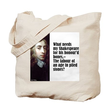 "Milton ""My Shakespeare"" Tote Bag"