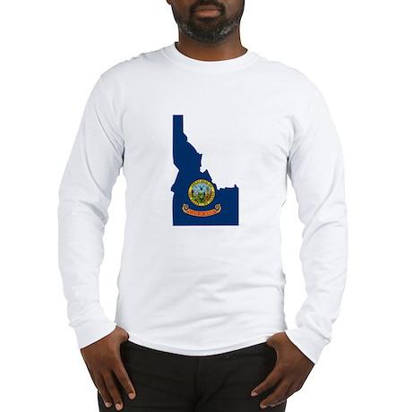 Idaho Stripe Custom Design Long Sleeve T-Shirt