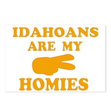 Idahoans are my homies Postcards (Package of 8)