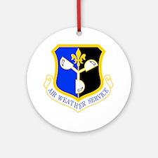 Weather Service Ornament (Round)