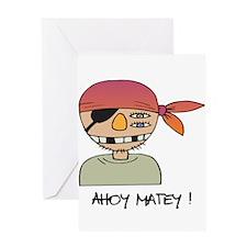Ahoy Matey! Greeting Card