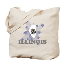 All Star Illinois Tote Bag