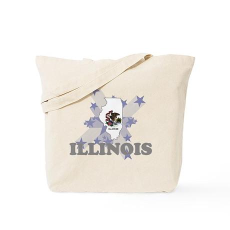 All Star Illinois Tote Bag