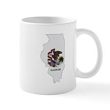 Illinois Stripe Custom Design Mug